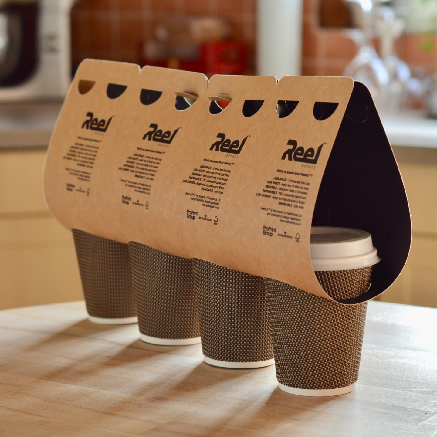 Printed Cups Down2Earth Materials